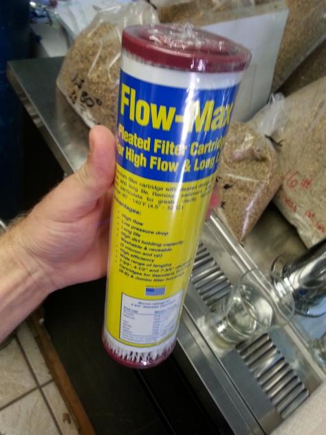 0.35 micron Flow-max nominal.