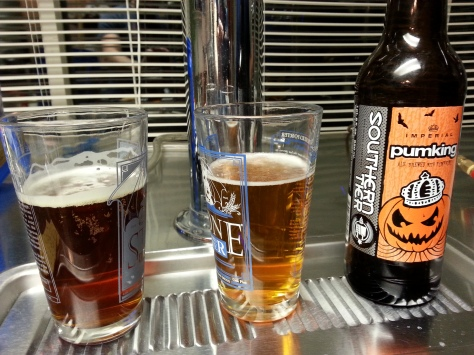 Pumpking - ours is the left brew.