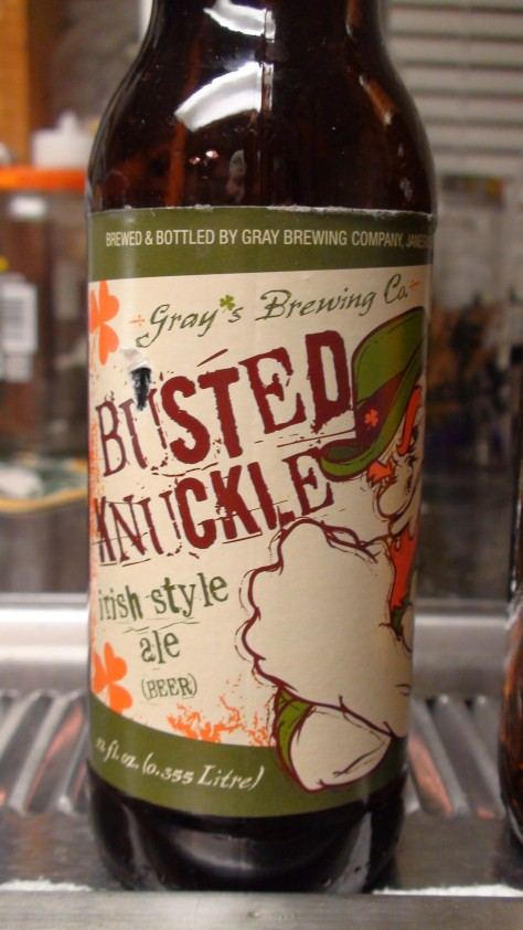 Gray's Brewing Busted Knuckle Irish Ale