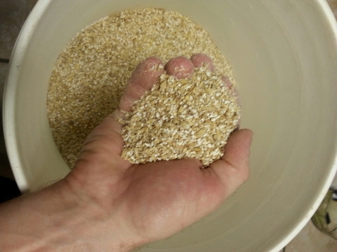 A perfect crushing of the grains.