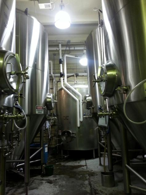 Thirsty Dog Brewing fermentors