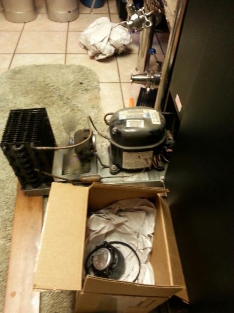 New kegerator compressor fan!