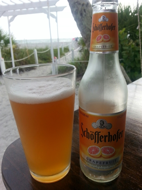 This was an interesting grapefruit beer from Shofferhofer - I would almost characterize this as a shandy.  It was good and my wife liked it...it went fast!  It has inspired me to do an atypical shandy that is a little less sweet and a little more tart.