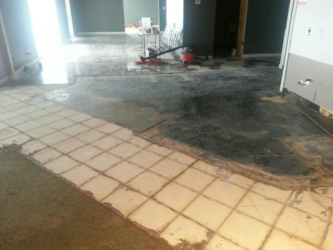 This floor will be 'interesting' to integrate to say the least.
