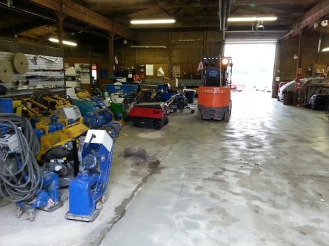Jordan Power has all the industrial concrete tools.