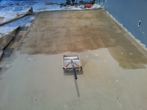 It's going to look nice.  The natural concrete will have a lot of character.