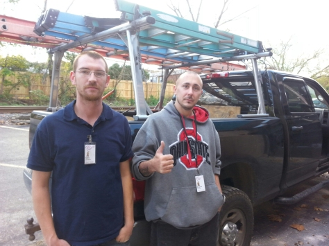 Gary and Eugene, the Time Warner installers, were nice and quick.  Thanks gentlemen!