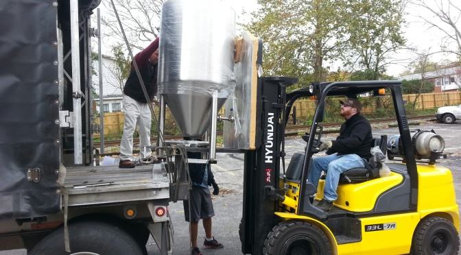 Building R.Shea Brewing: Week 13, October 27-November 2, 2014