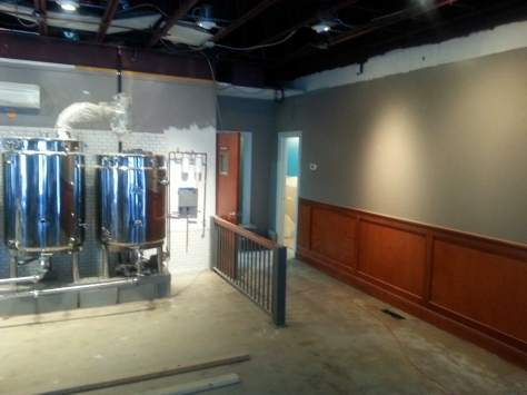Right Brewing area BEFORE