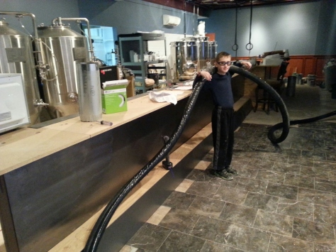 45 feet of this!  This will be run from the taps to the cooler.