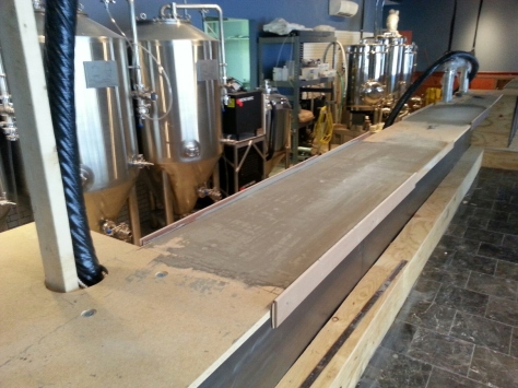 Leveling the bar.